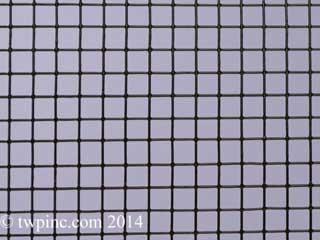 Black Polyester Coated Hardware Cloth
