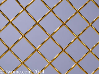 Brass Decorative Mesh