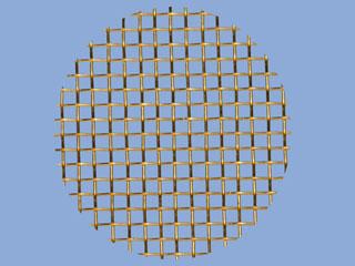 Brass Mesh Disc