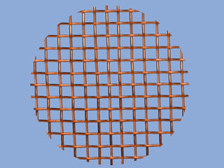 Copper Mesh Disc