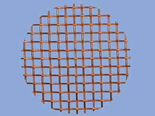 Copper Mesh Disc
