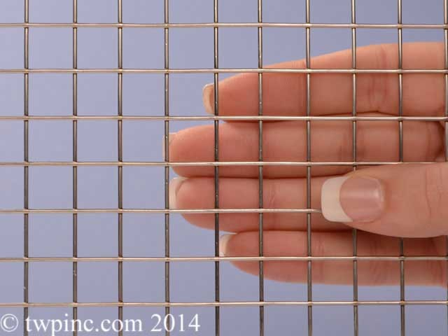 "1/2 Mesh Stainless Steel Type 316 Welded .047"" Wire Diameter Wire Screen"