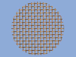 Bronze Mesh Disc