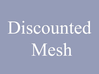 Discounted Galvanized Mesh