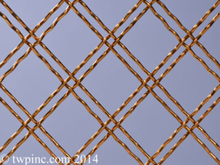 Bronze Decorative Mesh