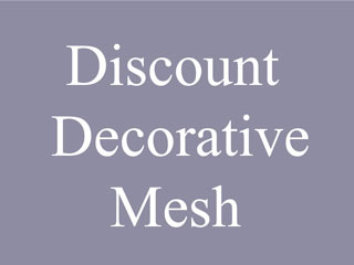 Discount Decorative Wire Mesh