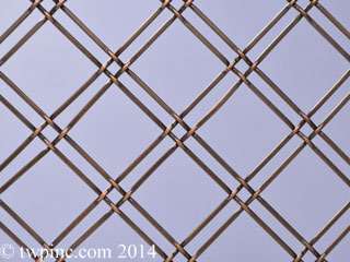 Double Diagonal Mesh Screen