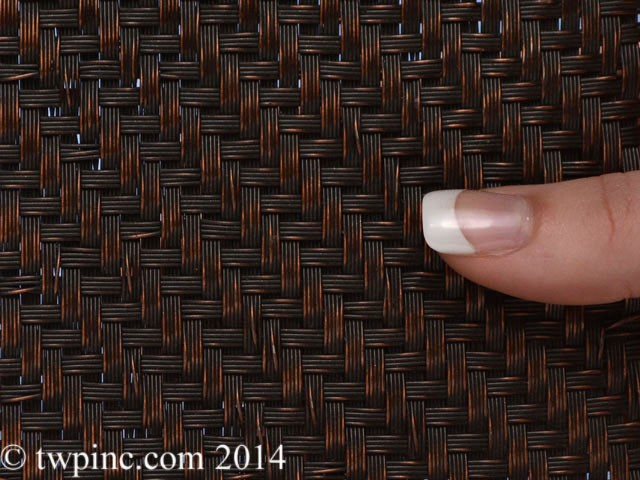 Del Rey Twill Antique Bronze Plated Flatewire Mesh