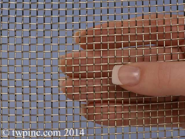 6 Mesh Stainless Steel Type 316 .035 Wire Diameter 48 Inches Wide Screen 19 Gauge