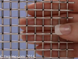 alpha stainless electropolished 36 - Decorative Wire Mesh