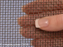 Fireplace Wire Screen Mesh from TWP Inc.