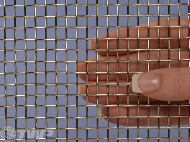 """Stainless Steel 304 Mesh #4 .047Wire Cloth Screen 16/""""x16/"""""""