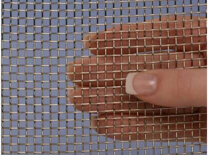 304 Mesh #2 .063 Stainless Steel Wire Mesh 36x36 Stainless Steel Mesh Crimped